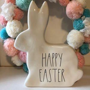 New Rae Dunn Easter bunny decor Happy Easter